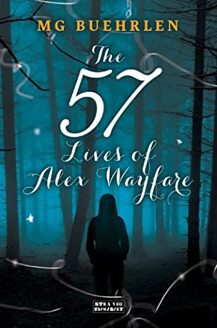 book cover of The Fifty-seven Lives of Alex Wayfare