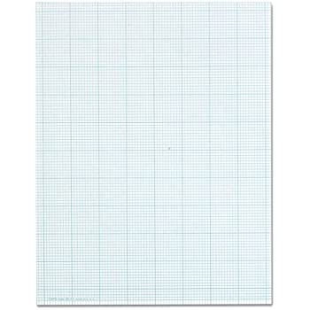 amazon com bienfang designer grid paper 50 sheets 8 1 2 inch by