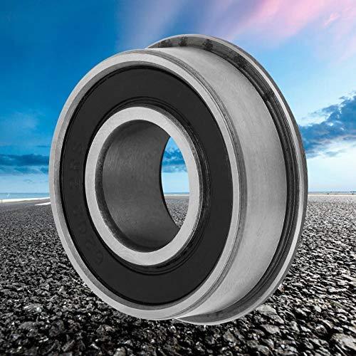 acero para rodamientos 10Pcs F6202RS Rodamiento r/ígido de bolas OD: 38MM ID: 16MM