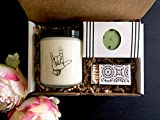 ASL Gift - Hearing Impaired Gift Idea - 8oz Scented Soy Candle and Soap