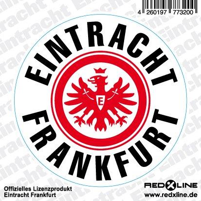 Eintracht Frankfurt Auto Aufkleber Logo Klein