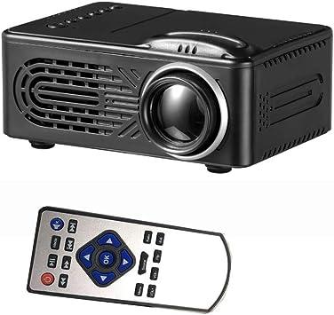 WOWOGA Mini proyector, ventilación de Escape Frontal Altavoz ...