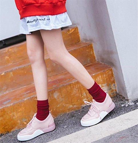 40 Sneakers Platform Size Running 35 To Ginnastica Lace Scarpe Da Fitness Pink Up Donna wqnZpFE7
