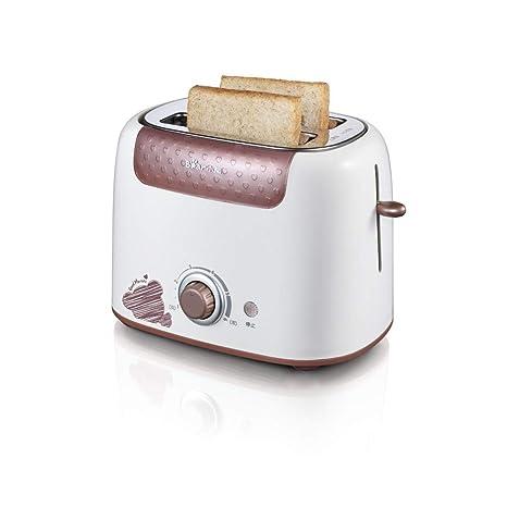 FUHUANGYB Máquina De Desayuno De La Tostadora Casera Hornada Automática 6 Protección De La Temperatura del