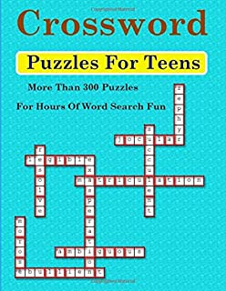 Crossword Puzzles For Teens More Than 300 Hours Of Word Search Fun