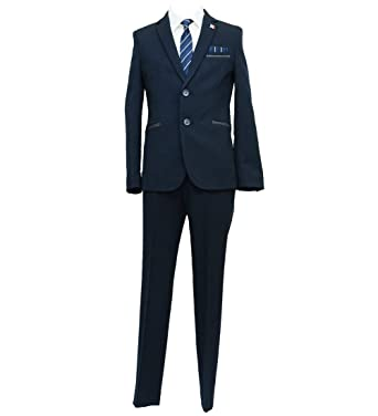 99dcd9dfea69e2 Amazon | [ELLE en noir(エルアンノワール)] 卒業式 男の子 4901-5601 コットンライク ソフトスーツ 150 160  170cm | フォーマル 通販
