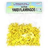 Gut Bustin' Games Yard Flamingo Miniatures, Set of 100, Yellow