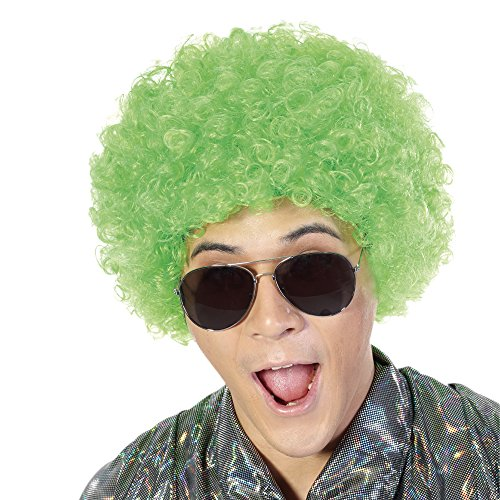 Fluffy Afro Synthetic Clown Wig for Men Women Cosplay Anime Party St. Patrick's Day Christmas Halloween Fancy Funny Wigs - Day Wig Patricks