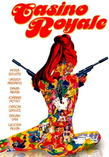 Amazon.com: D7756 Casino Royale 1967 Original Movie 32x24 Print ...