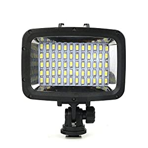 Sea frogs 60pcs LED Diving Fill-in Light Ultra Bright 1800LM Waterproof Underwater 40m 5500K Video Studio Photo Lamp