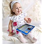 Boxiki kids Spanish-English Tablet Bilingual Educational Toy with LCD Screen Display Touch-and-Teach Pad for Kids…