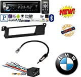 Pioneer DEH-X3900BT Vehicle CD Digital Music Player Receivers W/ 99-01 E46 3-SERIES CAR STEREO RADIO KIT DASH INSTALLATION TRIM W/ WIRING HARNESS AND ANTENNA