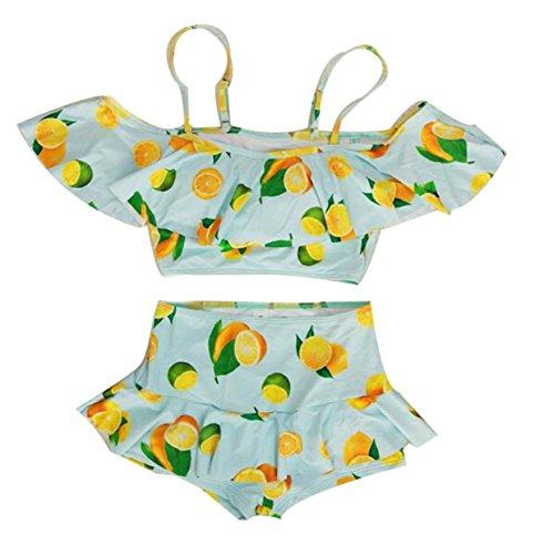 TAOZHN Trajes De Baño Bikini Femenino M L XL Deportes Acuáticos Traje De Baño Esencia Natación Bikini Oscuro Transpirable Cómoda Traje De Baño Green