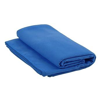 Delicacydex 183x61cm Toalla de Microfibra de Yoga Compacto Absorbente Suave Secado rápido Toallas Deportivas para viajeros Mochileros Caminantes - Azul: ...
