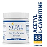 Vital Nutrients – Acetyl L-Carnitine Powder – Supports Normal Brain Function – Vegetarian – 100 Grams Review