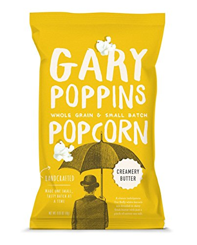 Gary Poppins Popcorn - Gourmet Handcrafted Flavored Popcorn - 10 Pack Creamery Butter, -