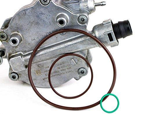 Bmw Turbo Kit (RKX BMW 4.4L turbo Vacuum Pump Repair Re-seal kit gasket N63 S63 V8 5 6 7 X5 X6)