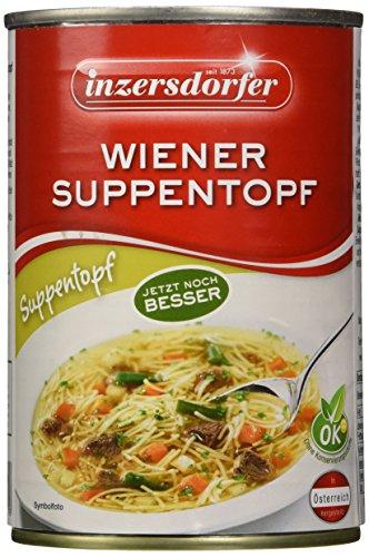 Inzersdorfer Wiener Suppentopf, 6er Pack (6 x 400 g)