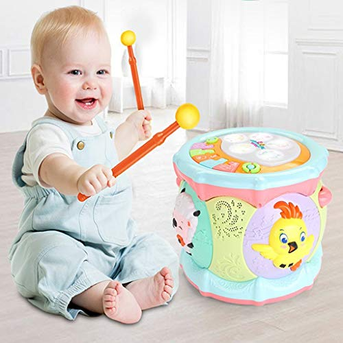LIPENG-TOY 0-3-6 Years Old Children Learn to Sing Can Accompaniment Hand Drums Baby Infant Enlightenment Baby Toys Boys and Girls (Color : Multi-Colored) by LIPENG-TOY (Image #1)