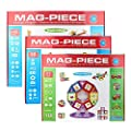 Mag-Piece Educational Magnetic Construction Building Set Toys, Multiple Piece Set Available | Computers