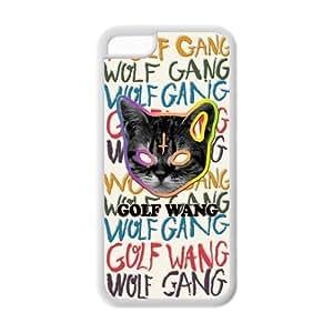 Popular Odd Future Glof Wang ofwgkta colorful cute cat head design TPU case for Iphone 5c