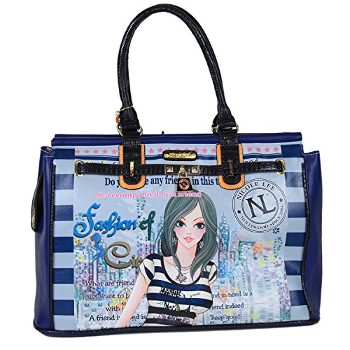 Nicole Lee Special Print Edition Duffle Bag, Dolly, One Size