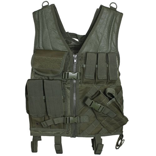 Fox Outdoor Products Assault Cross Draw Vest B004YW8020 オリーブドラブ オリーブドラブ