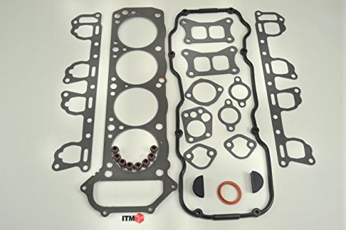 ITM Engine Components 09-10547 Cylinder Head Gasket Set for 1983-1989 Nissan/Datsun 2.4L L4, Z24/Z24I/D21, 720 Pickup/Van