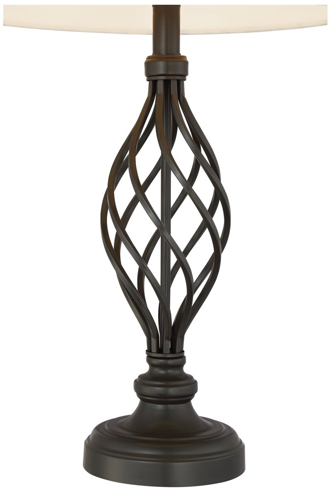 Annie Iron Scroll Table Lamps Set of 2 by Franklin Iron Works (Image #2)