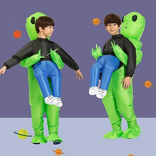 Runstarshow D/éguisement Gonflable Alien Costume Halloween Cosplay Exotique Int/éressant Fantastique Adultes Enfants pour Party Carnaval No/ël