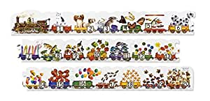 Amazon Com Melissa Amp Doug Number Train Jumbo Jigsaw Floor