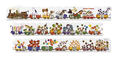 melissa and doug number puzzle - 8