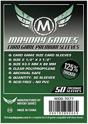 750 x Standard Docsmagic.de Gloomhaven Premium Card Sleeves Bundle 63.5 x 88