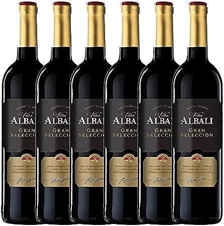 Viña Albali Tinto GRAN SELECCIÓN - 6 botellas x 750ml - Total:4500ml