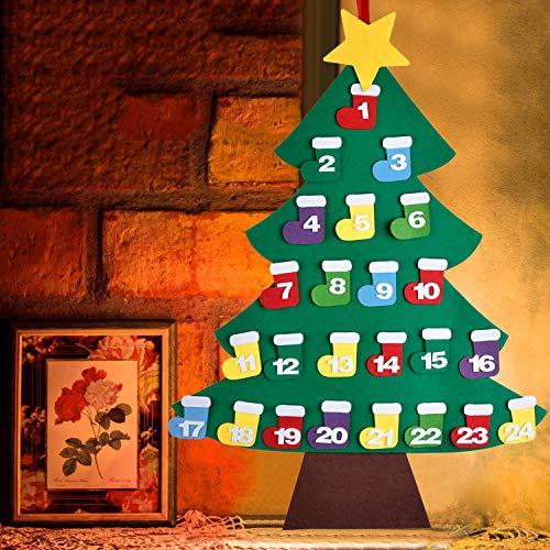 668cbbd0b94 Outgeek Felt Christmas Tree