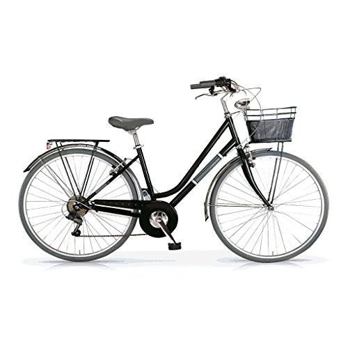 MBM - SILVERY - Vélo de ville 28'' 6s - - Noir UffDY3X