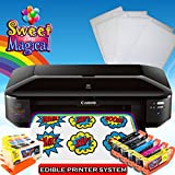 Edible Printer Bundle for Canon Wide Format Edible Ink,Edible cleaners & Edible Paper Sheets