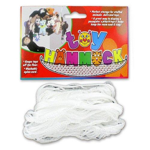 MINI White Nylon Cord plush pet NET Toy HAMMOCK for Stuffed Animals & Dolls (Single)