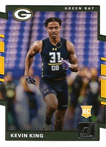 2017 Donruss #379 Kevin King Green Bay Packers Rookie Football Card