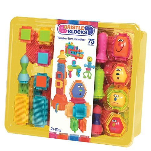 New Bristle Blocks By Battat Toy Building Blocks For Toddlers 75