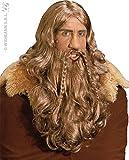 Widmann - Pe261 - Set Perruque Barbe et Moustache Viking