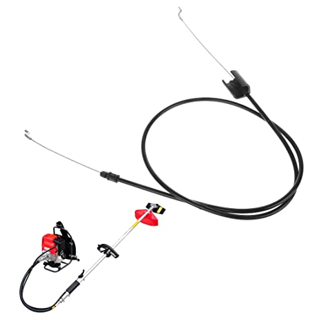 VAILANG Cable de Control de la Zona del Motor con tracción en el Acelerador y cortacésped con Herramienta de jardín en Forma de Z