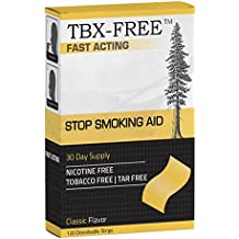 TBX-Free Stop Smoking Aid One Month Supply (Classic)