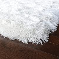 iCustomRug Cozy & Soft Faux Sheepskin Fur Shag Area Rug