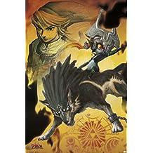 Midna The Legend of Zelda Twilight Princess Nintendo High Fantasy Video Game Series Poster - 24x36