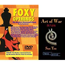"Foxy Chess Openings: The Modern Stonewall Dutch DVD & ChessCentral's ""Art of War"" E-Book (2 Item Bundle)"
