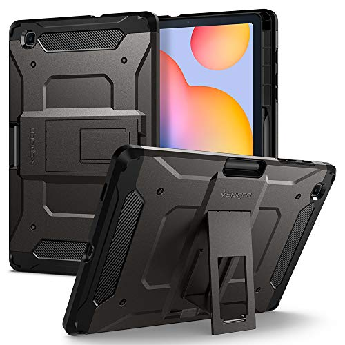 Carcasa para Galaxy Tab S6 Lite con soporte para S Pen Negra