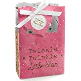Pink Twinkle Twinkle Little Star - Baby Shower or Birthday Party Favor Boxes - Set of 12