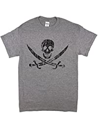 Pirate Flag Jolly Roger Calico Jack T-Shirt