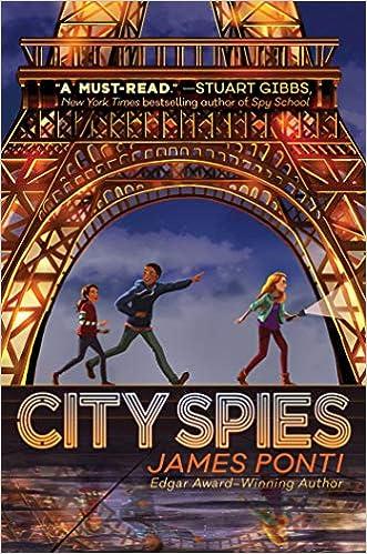 City Spies (1): Ponti, James: 9781534414914: Amazon.com: Books
